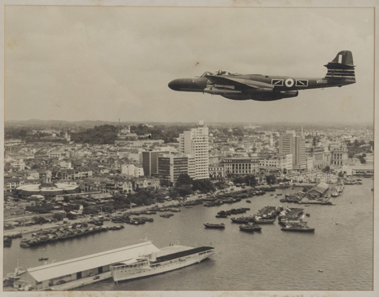 Old photograph of Clifford Pier, Singapore